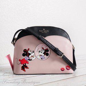 NWT Kate Spade Disney Minnie Mouse Dome Crossbody